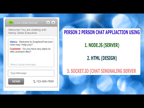 Chat Application Using Node.js And Socket.io In Hindi Part 1