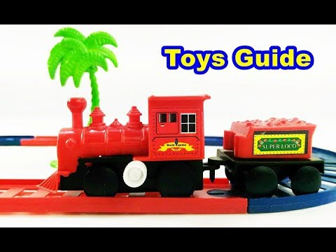 World Express - Mini Train Play Set - Classical Train Set for Children