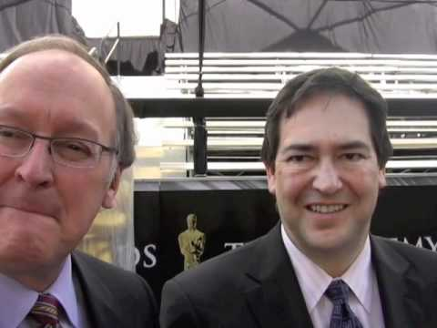 2011 Oscars: Brad Oltmanns and Rick Rosas Of Price WaterHouseCoopers