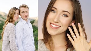 MAKEUP FOR ENGAGEMENT PICTURES | WEDDING SERIES | ALLIE G BEAUTY