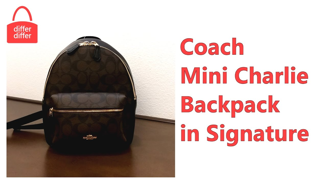 f3ba3a2f760b Coach Mini Backpack Brown- Fenix Toulouse Handball