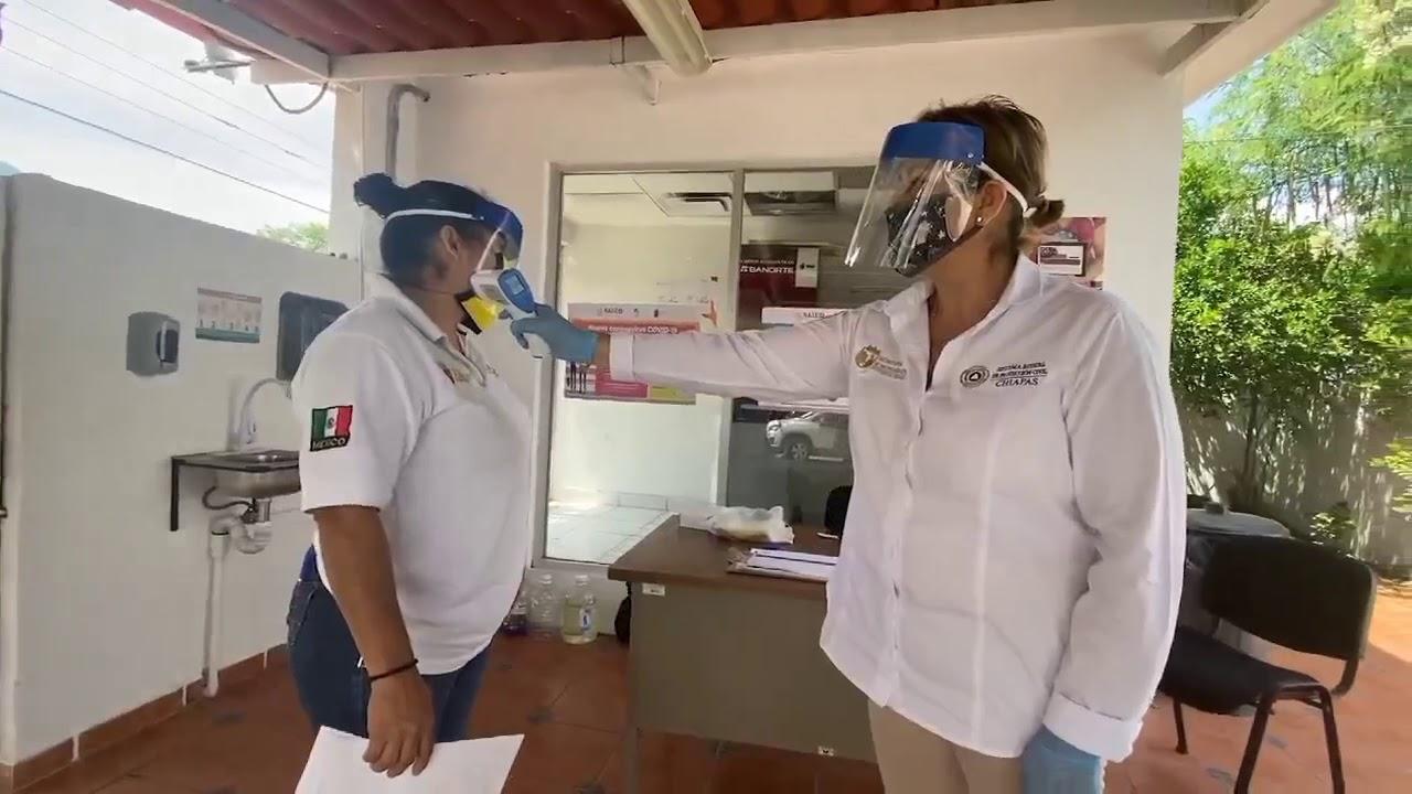 Hoy llegan las vacunas contra el COVID 19 a Chiapas
