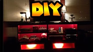 Diy | Custom Entertainment Center To Hold Your Video Game Consoles