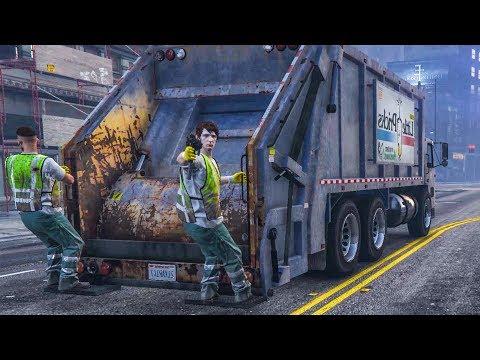 Die gefährlichsten MÜLLMÄNNER in GTA 5 Online
