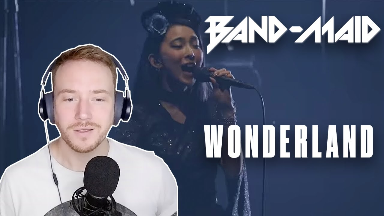 REACTION to BAND MAID (Wonderland) 🇯🇵🎤🔥