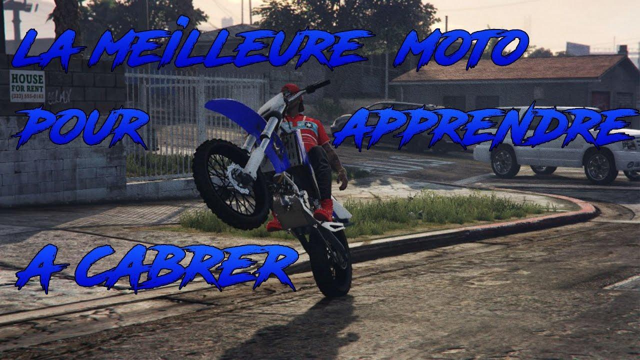 apprendre moto cross