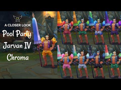 Pool Party Jarvan IV Chromas