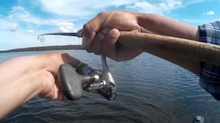 Рыбалка на щуку с лодки- на джиг и дорожкой.