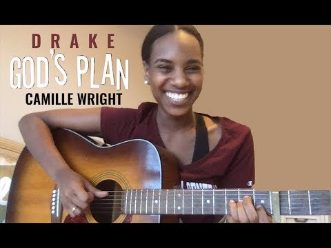 Drake - God's Plan Acoustic Cover (Camille Wright)