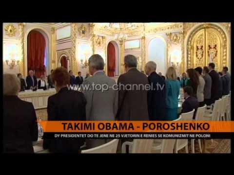 Takimi Obama-Poroshenko - Top Channel Albania - News - Lajme