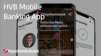 Die HVB Mobile Banking App – sicher, komfortabel und übersichtlich | #HypoVereinsbank