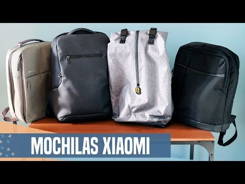 ¡Las MOCHILAS de XIAOMI! Urban, Travel y Business