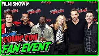 FREE GUY | NYCC 2019 Panel Highlights & Interviews