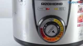 Видеообзор мультиварки-скороварки Redmond RMC-PM4507
