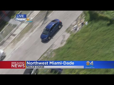 Special Report: Police Chase Ends In NW Miami-Dade
