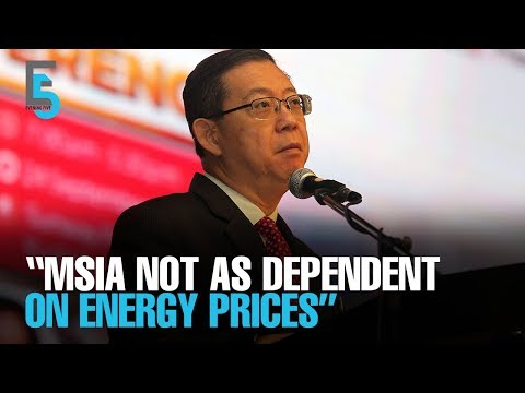 EVENING 5: LGE: Malaysia is not as dependent on energy prices