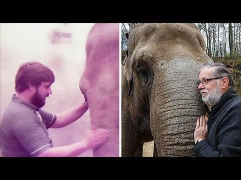 Berpisah 35 Tahun, Kirsty Si Gajah Asia Masih Kenali Pelatihnya Sejak 1987