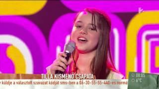 Kismenők: Tilla apaként is izgul a versenyzőkért - tv2.hu/mokka