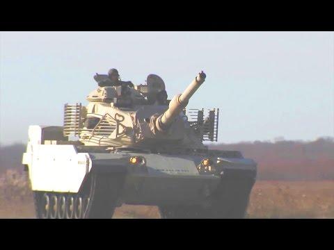 Raytheon - M60 A4S Main Battle Tank Service Life Extension Program [1080p]