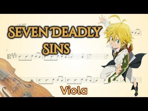 Nanatsu no Taizai opening 2 - Seven Deadly Sins (Viola)