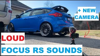 Gambar cover LOUD FOCUS RS SOUNDS WITH MY NEW CAMERA (EXHAUST AND BOV)