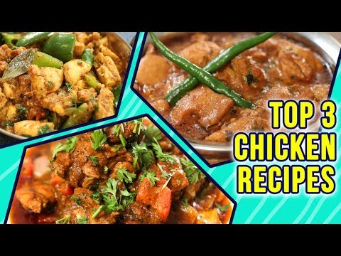 Best Chicken Recipes | Top 3 Chicken Recipes By Chef Neelam Bajwa | Chicken Recipe