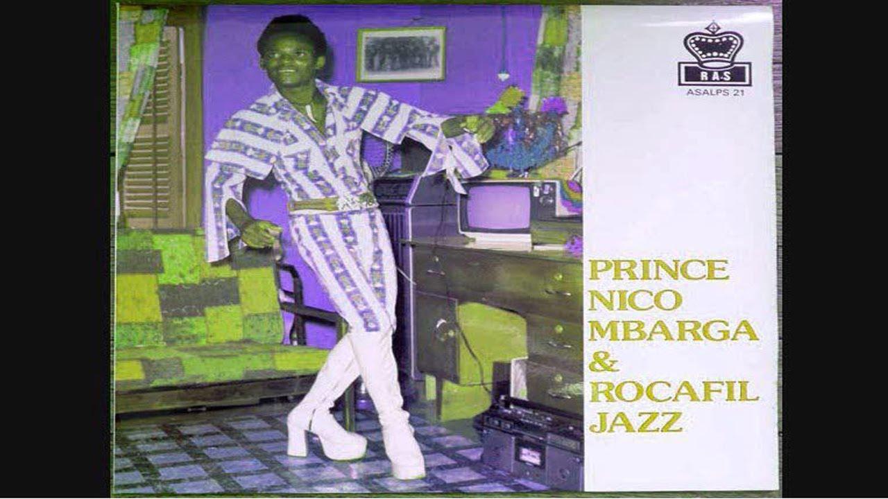 Prince Nico Mbarga & Rocafil Jazz : Sickness (extrait ...