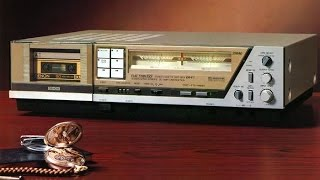 1982 Denon DR-F6 Tape Deck Complete Review