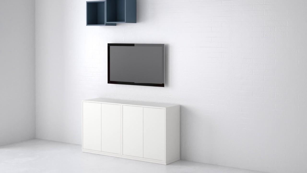 Ikea Eket Stilsichere Aufbewahrung Im Bausteinprinzip Youtube