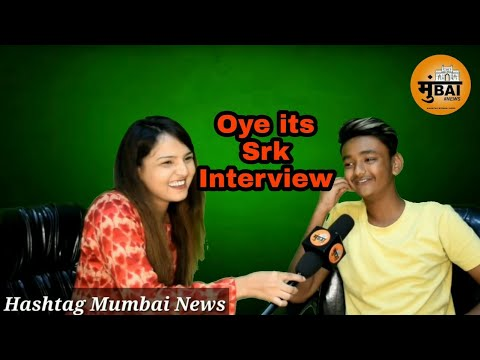 Oye It's SRK | Interview On Hashtag Mumbai News | Oye It's Prank
