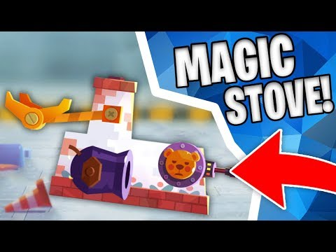 MAGICAL FLYING STOVE!?! | Crash Arena Turbo Stars (Cats)