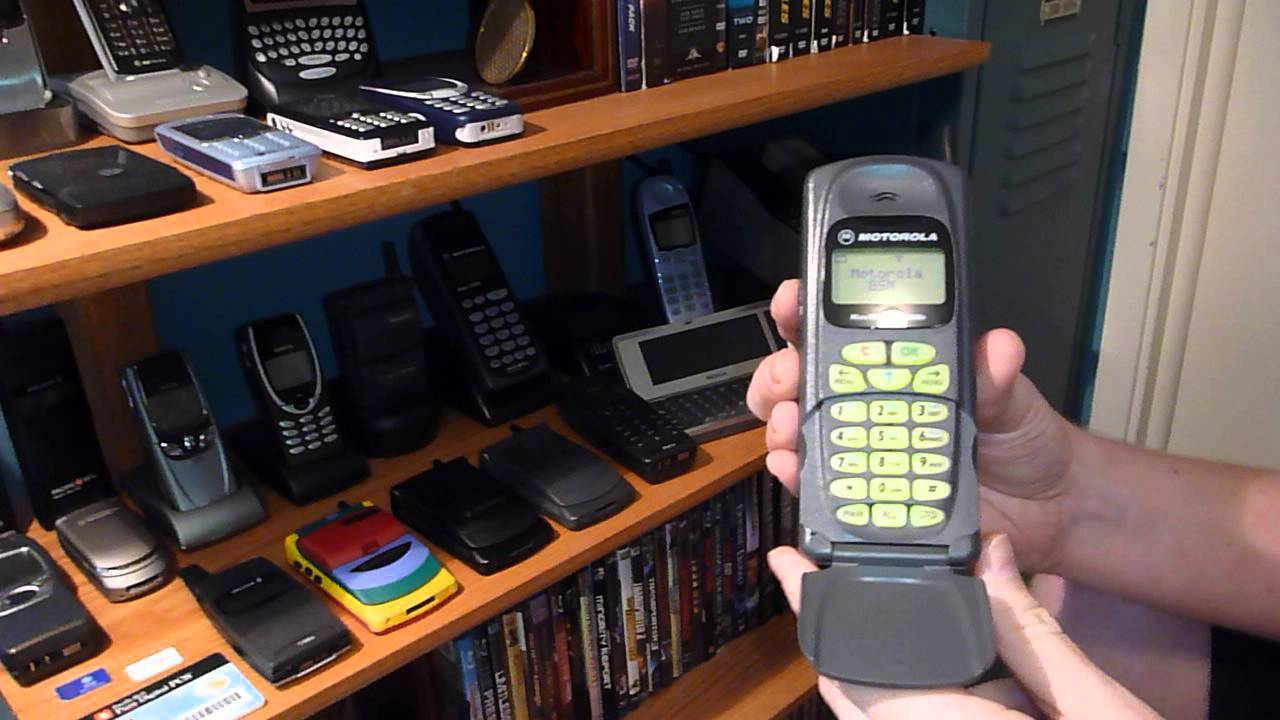 Classic Cell Phone Collection Part 12 Motorola Microtac