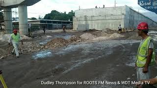 WDT Media TV Hagley Park Road Improvement Project. No compensation for injured worker