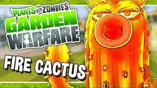 Растения против Зомби 2 Садовая Война - ОГНЕННЫЙ КАКТУС [Fire Cactus] - Обзор