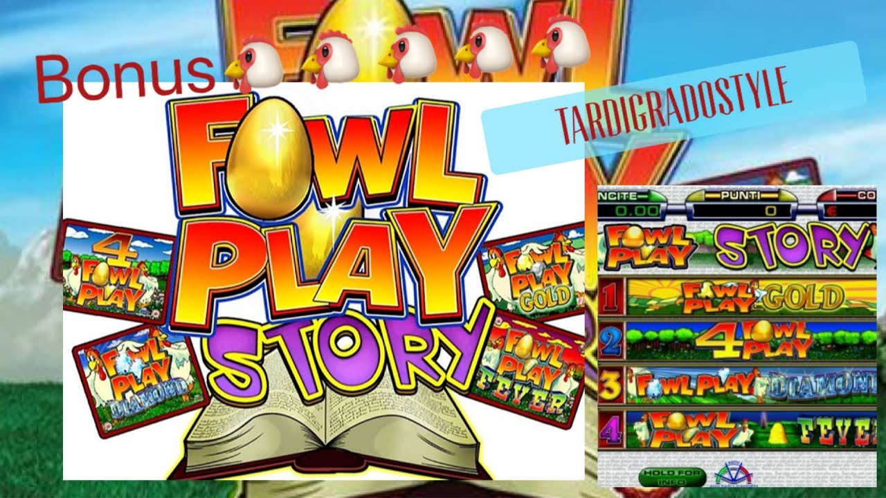 Slot da Bar e Tabacchi - Fowl Play Story al 65% BONUS Gallina ? ????