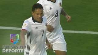 Carlos Bacca abrió el marcador en el partido Colombia vs Paraguay