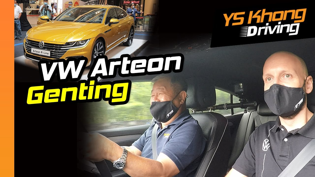 Volkswagen Arteon 2020 Genting Hill Climb: Is 190 PS and 320Nm Enough? | YS Khong Driving
