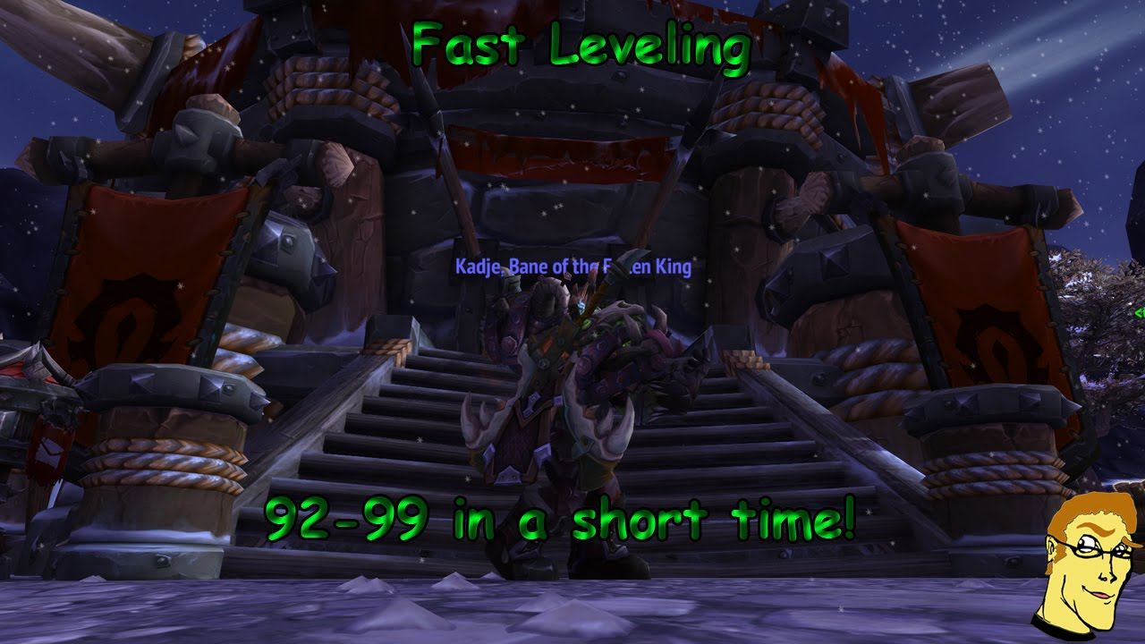 wow fast leveling guide