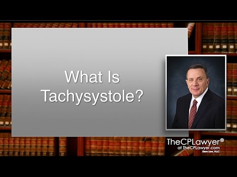 What Is Tachysystole?
