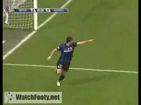Download Inter Milan 2 - 0 Napoli (Milito) - 23/09/2009