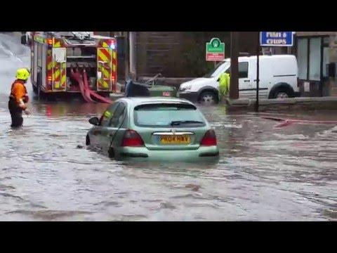Haworth Spar & Royal Oak Flood In 4K - Mill Hey