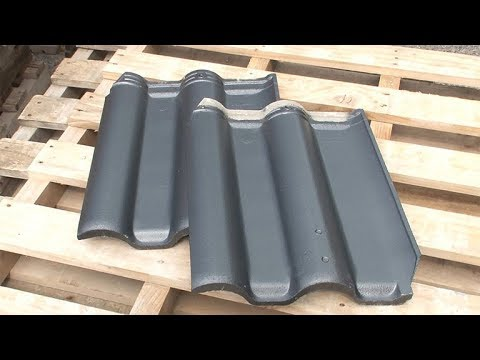 A New Roof Tile Paint Which Lasts over 30 Years