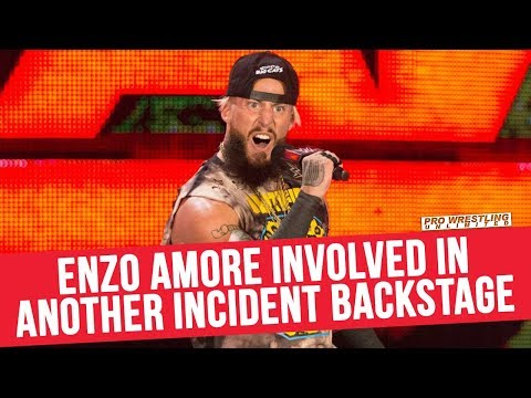 Enzo Amore Involved In Yet Another Incident Backstage