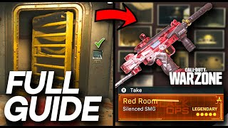 Warzone REBIRTH ISLAND Easter Egg GUIDE (Photo locations, Red Room Blueprint, how to Solve Code