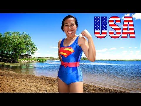 Full Movie on YouTube 🎞 Asian Girl Crushes the USA 🇺🇸