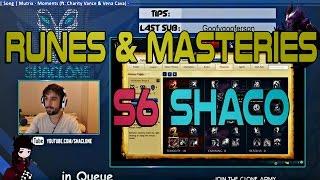 Season 6 Runes & Masteries for AD Shaco