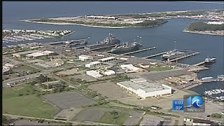 All clear given after bomb threat discovered at Norfolk Naval Shipyard