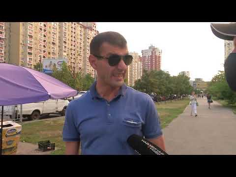 Люди обіцяють самосуд: у Києві неадекватний водій жорстоко побив велосипедиста