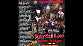 Dj Don Kingston  Martial Law Dancehall Mix 2018