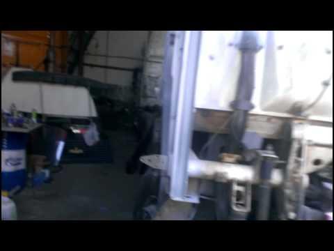 Установка стеклоподъемников ГРАНАТ на МАЗ Евро - YouTube